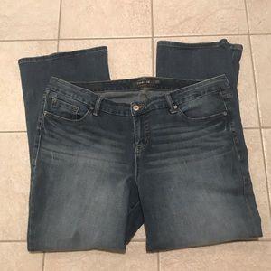 Torrid Premium Slim Boot Cut Jeans Size 22R